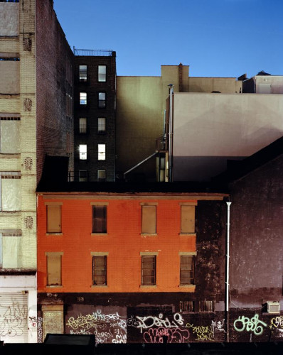 Rooftop, Grand Street, NY by Maria Passarotti