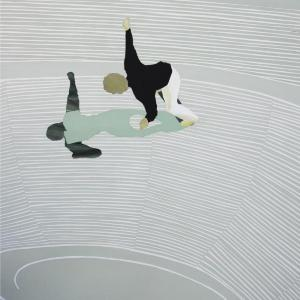 Boy Balancing by Vivian Kahra