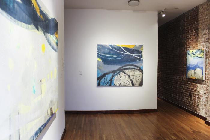 Installation View of ROCKS AND RAYS