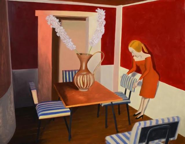 Dining Room by Kathy Osborn