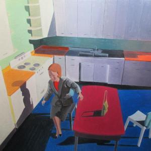 Woman in Kitchen by Kathy Osborn