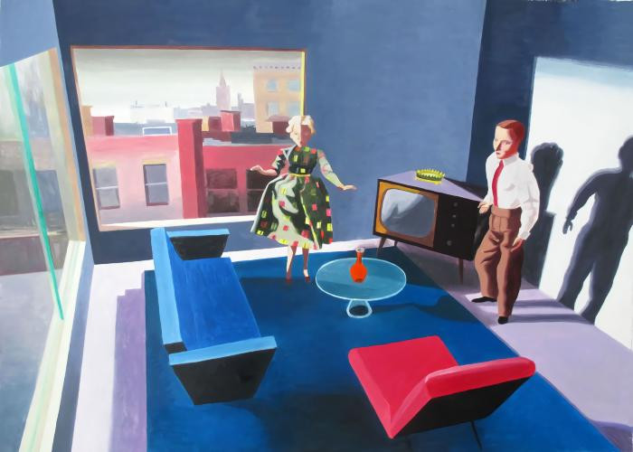 John Sloan Out the Window by Kathy Osborn