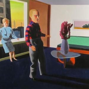 Man in Front by Kathy Osborn