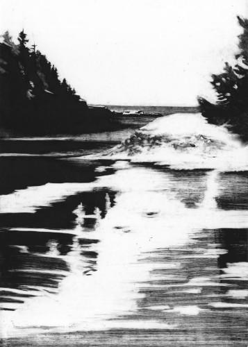 Inlet II by Rachel Burgess