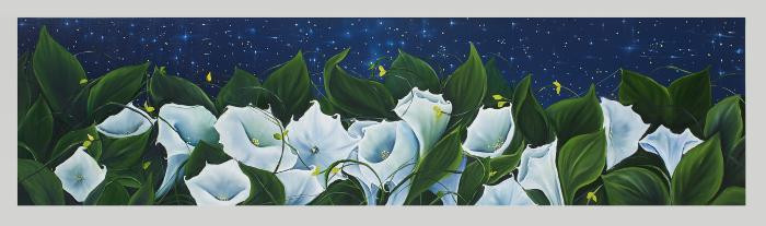 Moon Flowers by Allison Green
