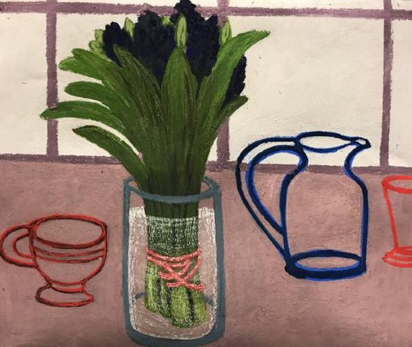 Hyacinths by Angela A'Court