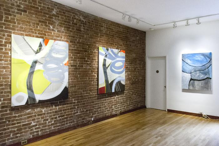 Installation View of Of Earth and Sky