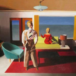 Facing Away by Kathy Osborn