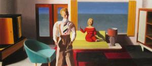 Facing Away by Kathy Osborn; by Kathy Osborn