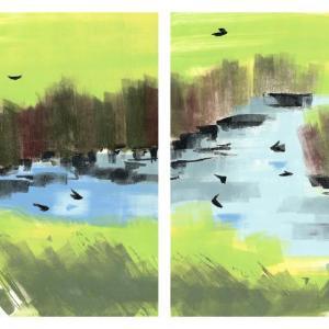 Swallows by Rachel Burgess