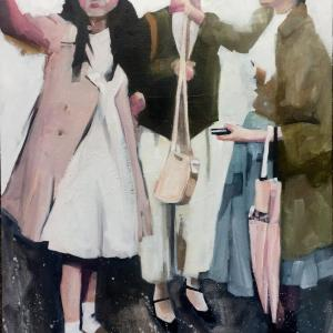 Girls Shopping in Japan by Ruth Shively