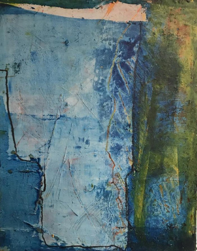 Blue Day by Lisa Pressman