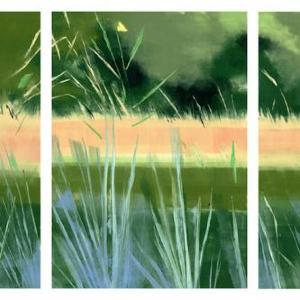 Blue Grass by Rachel Burgess