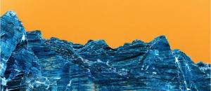 The Blue Wall from Zion: Plateaux of Mirrors Series by Jeffrey Rothstein