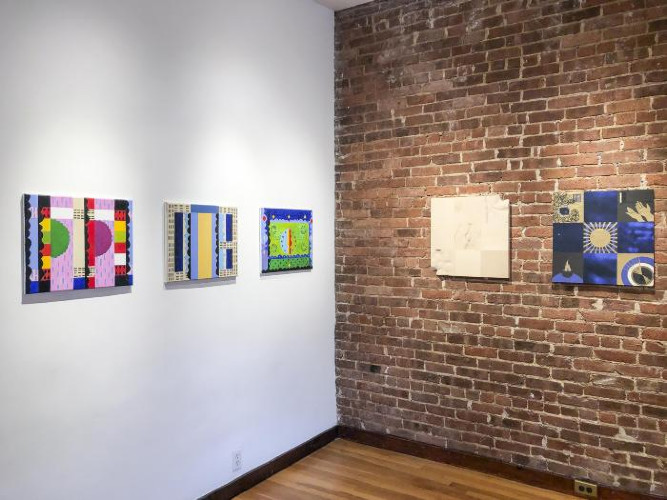 Installation View of OFF THE GRID
