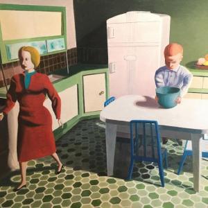 Blue Bowl by Kathy Osborn