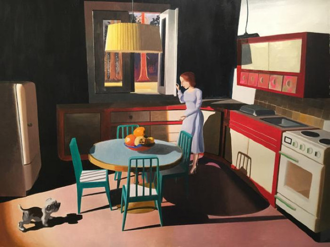 Opening a Window by Kathy Osborn
