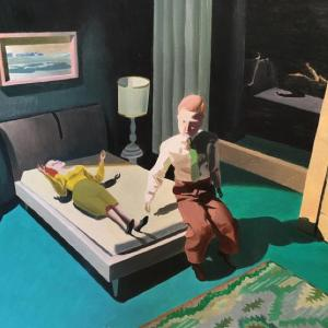 Hotel Room by Kathy Osborn