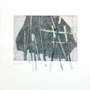 Behind Bars No. 1 by Karin Bruckner