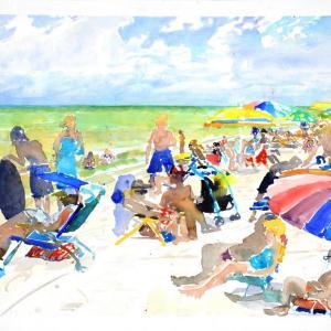 Vanderbilt Beach, Naples by Steve Singer