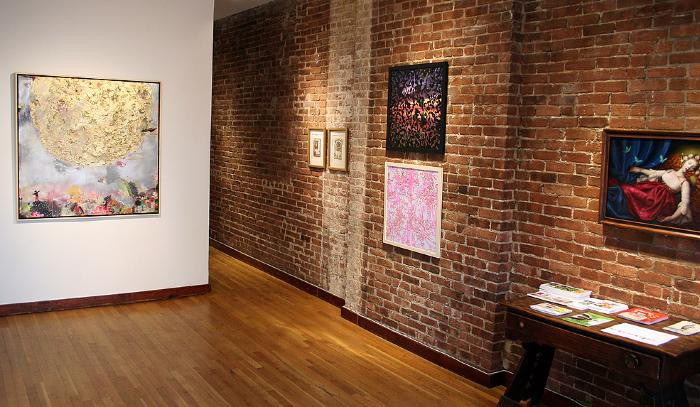 Installation View of THE TALL TALE