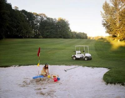 The Sandcastle by Carolyn Monastra