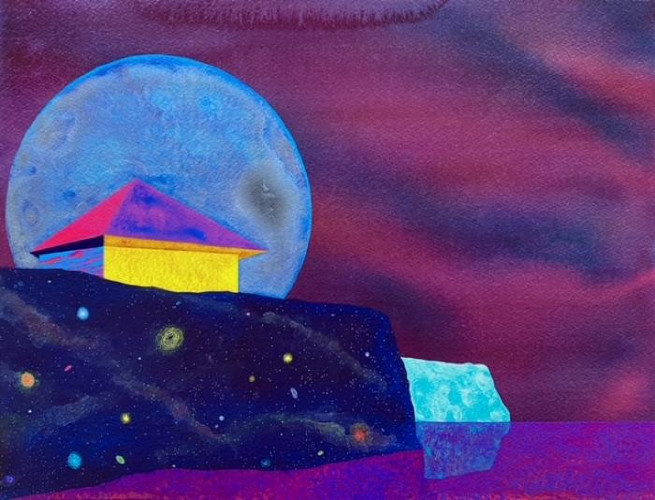 Evening Perspective by James Isherwood