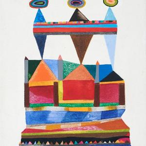 Sentries, Small Works No. 115 by Sasha Hallock