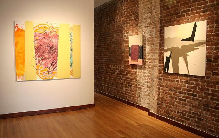 Installation View of SHAPE SHIFTING
