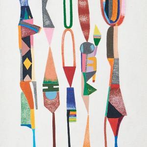 Untitled, Small Totems No. 2 by Sasha Hallock