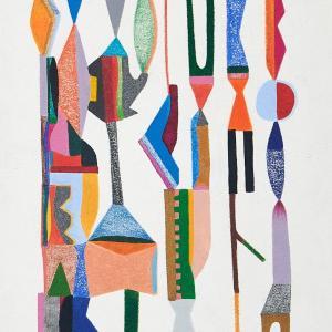 Untitled, Small Totems No. 1 by Sasha Hallock