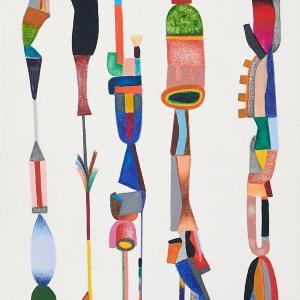 Untitled, Small Totems No. 3 by Sasha Hallock