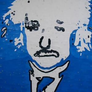 Einstein by Kim Luttrell
