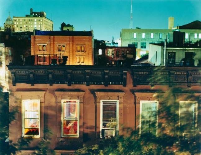 Rooftop, Brooklyn, NY by Maria Passarotti