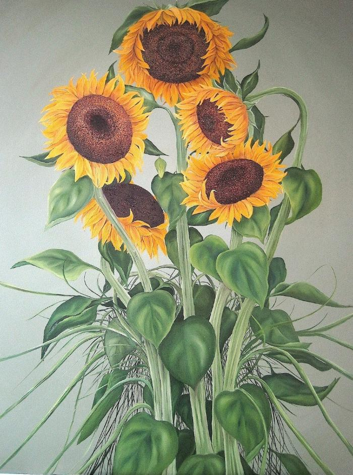 Sunflowers (Life) by Allison Green