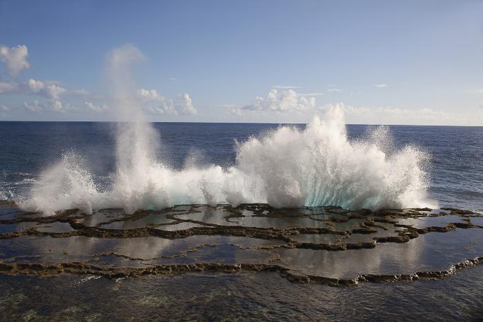 Blowhole #1, Nuku'alofa, Tonga by Carolyn Monastra