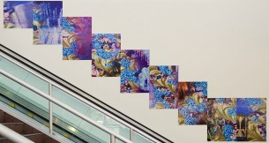 "Barbara Strasen ""Flow and Glimpse"" at LAX"