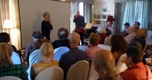 Susan Eley Presents at Molly Barnes Brown Bag Art Talks