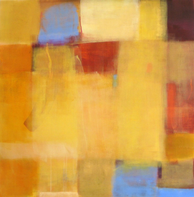 "Ellen Hermanos, ""Coronado 2"", 2007, acrylic on canvas, 38 x 38 inches"