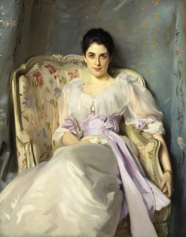 "John Singer Sargent, ""Lady Agnew of Lochnaw"""