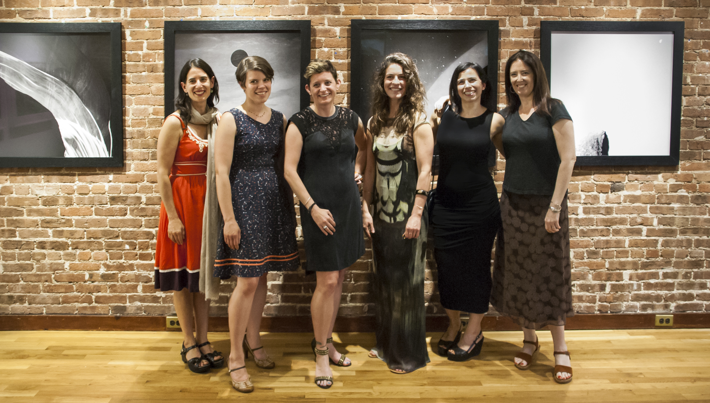 From left: Carolyn Monastra, Maria Passarotti, Danelle Manthey, Heather Boose Weiss, Jessica M Kaufman, Leah Oates