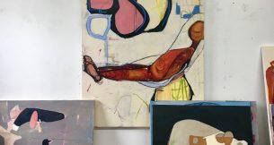 A Studio Visit with Gail Winbury