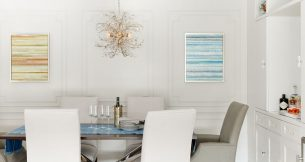 Angela A'Court and Chase Langford featured in House Beautiful