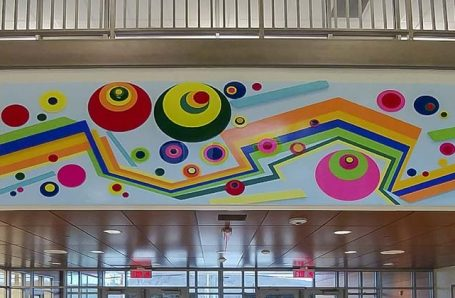 3 New Murals by Soonae Tark at the Obama Magnet University School in New Haven, CT