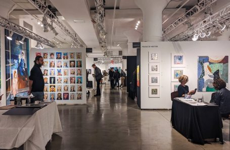 Armory Week: Hand sanitizer, elbow-shakes, and lots of extraordinary art