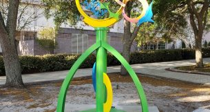 "Carole Eisner's ""Birdsong"" in Lakeland, FL"